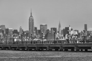 Mahattan Framed Prints - New York City Framed Print by Chuck Kuhn