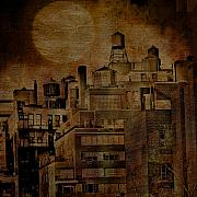 Cities Digital Art Metal Prints - New York City Escape Metal Print by Jeff Burgess