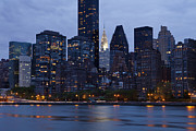 Bay Photos - New York City From Across the Water by Bryan Mullennix