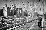 New York Newyork Photo Posters - New York City Poster by Ilker Goksen
