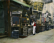 Bowery Prints - New York City Restaurant Print by Granger