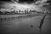 Skylines Art - New York City by Rick Berk