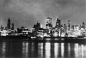 Financial Failure Prints - New York City Skyline, After Blackout Print by Everett
