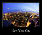 New York City Photos - New York City Skyline by Anthony Sacco