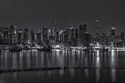 Clarence Holmes Photos - New York City Skyline Morning Twilight XVI by Clarence Holmes