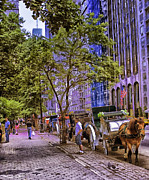New York City Photos - New York City - Street Scene 1 by Madeline Ellis