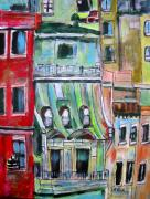 Michael Litvack Art - New York City Tenements by Michael Litvack