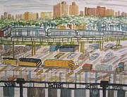 Enrico Miguel Thomas - New York City Train Yard