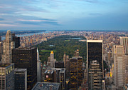 Central Park Skyline Prints - New York City, USA Print by David Buffington