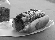 Hot Dog Photos - New York Corner Deli Dog by Betsy A Cutler East Coast Barrier Islands
