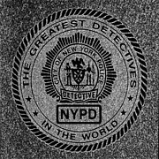 Detectives Metal Prints - New York Detectives Metal Print by Andrew Fare