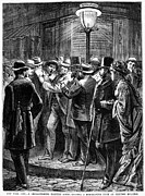 Streetlight Photos - New York: Election, 1876 by Granger