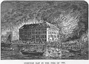 1835 Photos - New York: Fire Of 1835 by Granger
