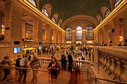 Manhatten Photo Prints - New York Grand Central Print by Rob Hawkins