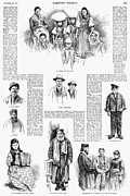 Rabbi Framed Prints - New York: Immigrants, 1891 Framed Print by Granger