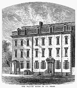 1757 Photos - New York: Mansion, 1757 by Granger