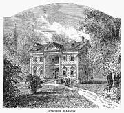 1876 Prints - New York: Mansion, 1764 Print by Granger
