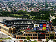 New York Mets Stadium Prints - New York Mets CitiField Print by Ms Judi