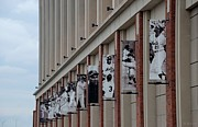 New York Baseball Parks Metal Prints - NEW YORK METS of OLD Metal Print by Rob Hans