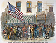 American City Prints - New York: Military Draft Print by Granger