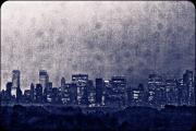 Landscapes Prints - New York Negative Print by Ariane Moshayedi