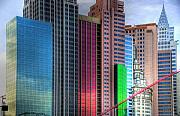City Art - New York-New York - Las Vegas by Neil Doren