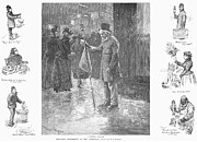W.a. Prints - New York: Peddlers, 1891 Print by Granger