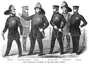New York Policemen, 1854 Print by Granger