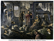 Winter Sleep Photos - New York: Poverty, 1869 by Granger