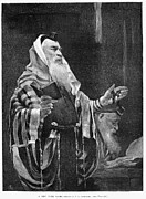 Prayer Shawl Framed Prints - New York Rabbi, 1890 Framed Print by Granger
