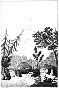 New York: Saw Mill, 1792 Print by Granger