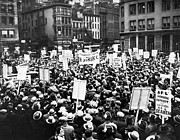 Union Square Photo Prints - New York: Seamens Strike Print by Granger