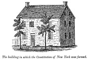 Kingston Prints - New York: Senate, 1777 Print by Granger