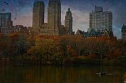 Rowboat Prints - New York Series - The Dakota Print by Jeff Burgess