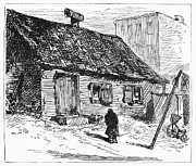 1875 Photos - New York: Shanty, 1875 by Granger
