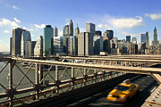 Hurry Prints - New York Skyline Print by Matt Tilghman