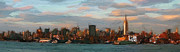 New York Skyline Paintings - New York Skyline by Stefan Kuhn