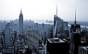 Rockefeller Center Prints - New York Skyline Print by Thomas Splietker