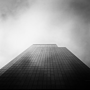New York Winter Framed Prints - New York Skyscraper Framed Print by John Farnan