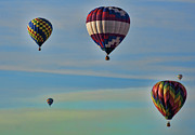 Hot Air Balloon Prints - New York State Festival of Balloons Print by Joe Granita