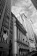 Rosemary Hawkins Prints - New York Stock Exchange 2011 Print by Rosemary Hawkins