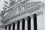 Wall Street Prints - New York Stock Exchange II Print by Clarence Holmes