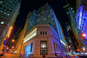 Johnny Sandaire Prints - New York Stock Exchange Print by Johnny Sandaire