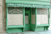 Commercial Archeology Sculptures - New York Storefront Sculpture - Vesuvio Bakery by Randy Hage