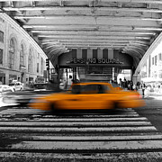 Pershing Photos - New York Taxi 1 by Andrew Fare