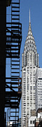 Chrysler Building Photos - New York Watercolor 3 by Andrew Fare