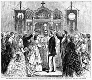 Patriarch Prints - New York: Wedding, 1871 Print by Granger