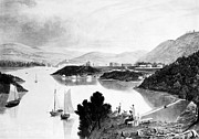 Cooke Prints - New York: West Point, 1834 Print by Granger
