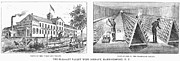 New York: Winery, 1878 Print by Granger