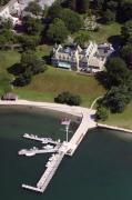 Dock - New York Yacht Club Harbour Court 5 Halidon Avenue Newport RI 02840 3815 by Duncan Pearson